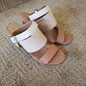 Levity Women's Leather High Heel Sandals